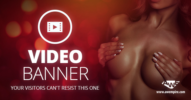 Our new Video Banners will improve your sales