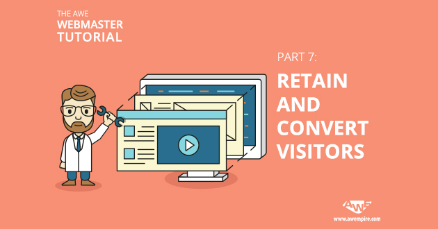 Retain and convert visitors