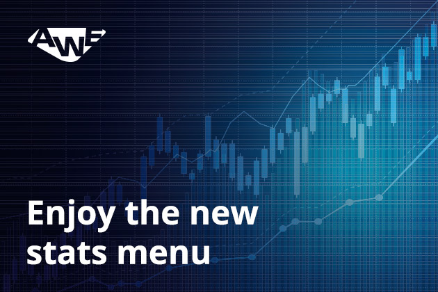 2 - Enjoy the new stats menu!